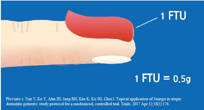 Jednotka prstového lůžka – zkr. FTU z angl. fingertip unit (8)