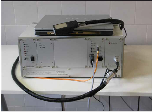 Teplotní stimulátor SENSELab – TERMOTEST MSA, Somedic, termoda 25 × 50 mm.