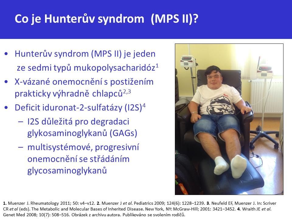 Mukopolysacharidóza typ II – Hunterův syndrom - 6