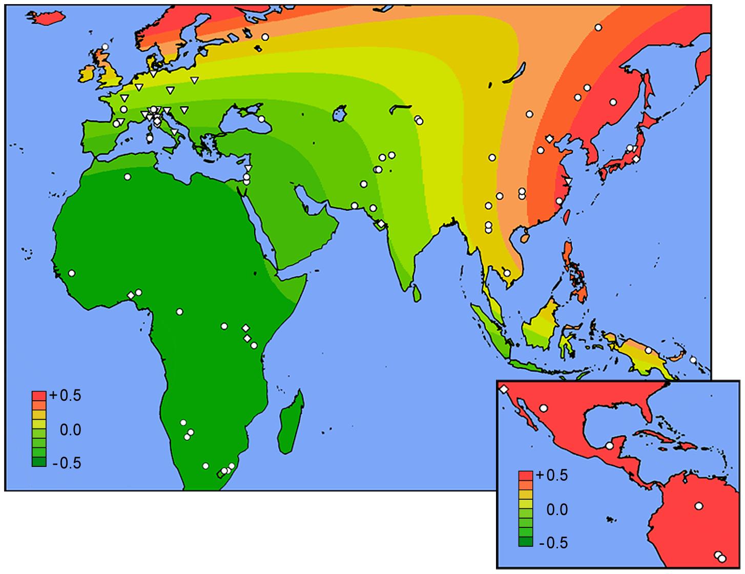 Worldwide geospatial risk analysis.