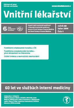 Vnitřní lékařství – od 60. ročníku (od roku 2014)