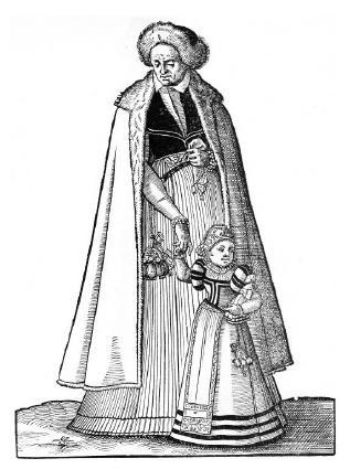 Kromě hygienických předmětů zavěšovaly ženy na své pásy i drobné předměty denní potřeby