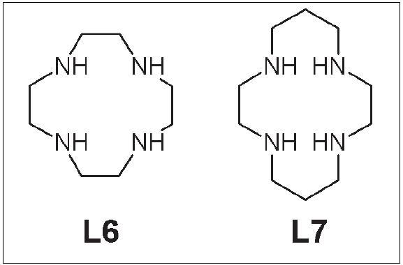 Cyklén (L6) a cyklám (L7).