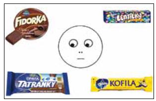 """Příklad úlohy na """"theory of mind"""" – """"Na co má Karlík chuť?"""""""