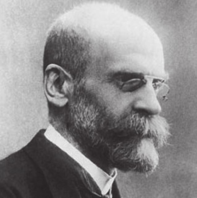 Emil Durkheim (1858-1917).