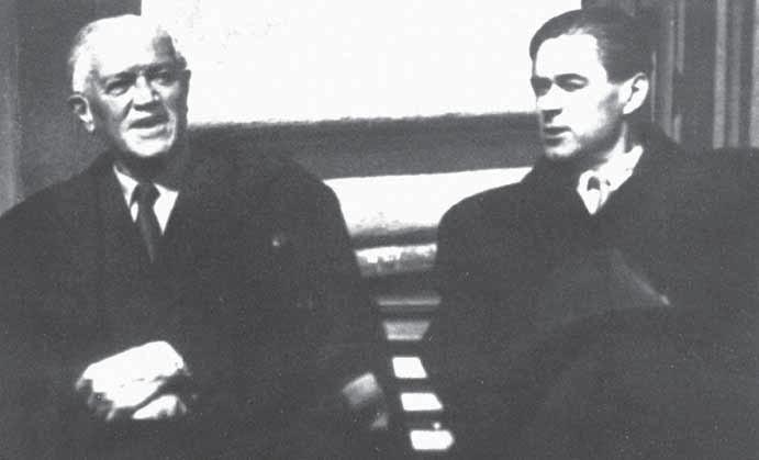 Prof. MUDr. Bohumil Prusík a prof. MUDr. Zdeněk Reiniš.