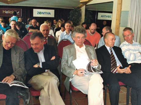 Sympozium v Kaprunu 2010, profesor Mandys uprostřed.