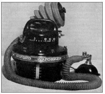 Oxfordský odpařovač E. M. O – první kvantitativní odpařovač éteru