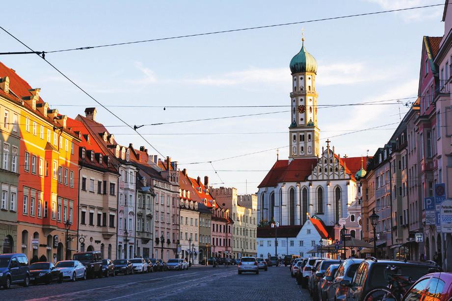 Augsburg je univerzitní město s úspěšnou klinikou.