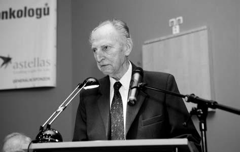 Profesor Hrodek oslavil první den konference 88. narozeniny.