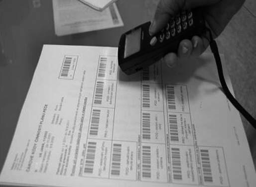 Načítání kódů při vykazování ošetřovatelské péče.