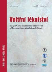 Vnitřní lékařství – od 51. ročníku (od roku 2005)