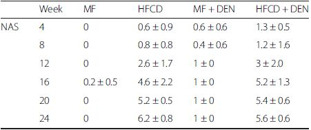Nonalcoholic fatty liver disease activity score (NAS)