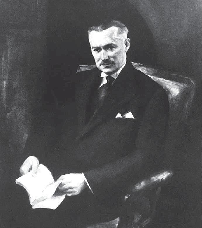 Prof. MUDr. Václav Libenský (1929–1938), zakladatel společnosti.
