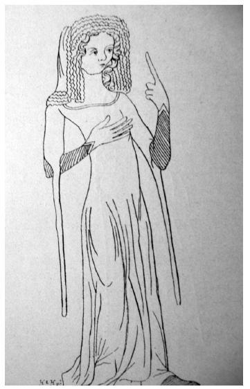 Pachy se nosily různé délky a šířky a byly oblíbené jak u mužů, tak u žen