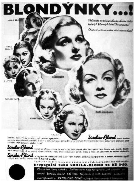 Reklama na vlasový regenerační přípravek