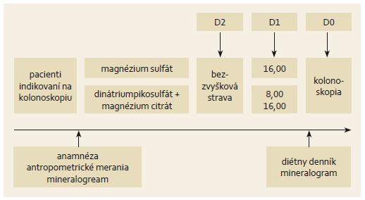 Schéma 1. Dizajn štúdie. Scheme 1. Study design.