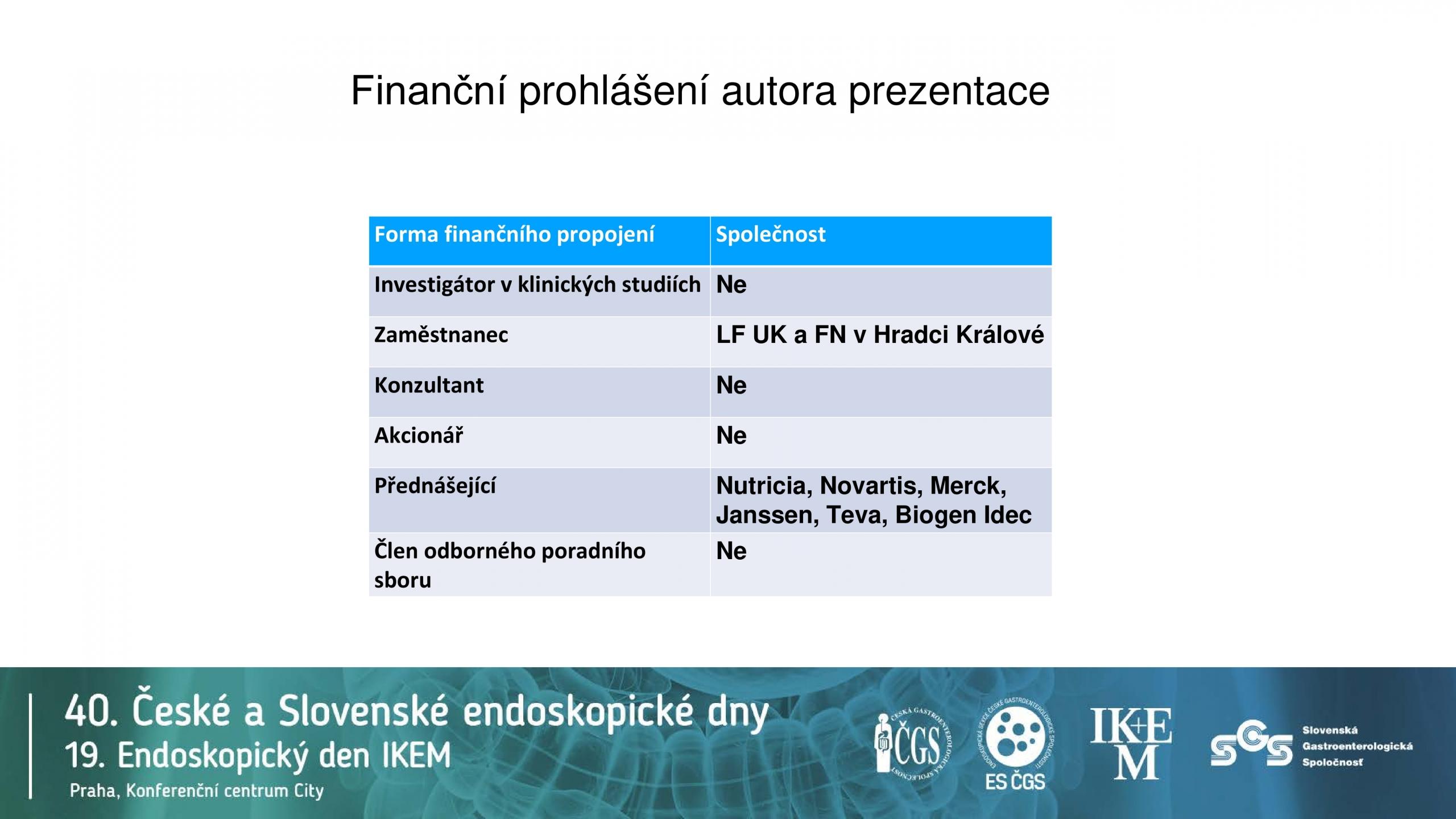 Klíčová úloha IL12/IL23 v patogenezi IBD - 2