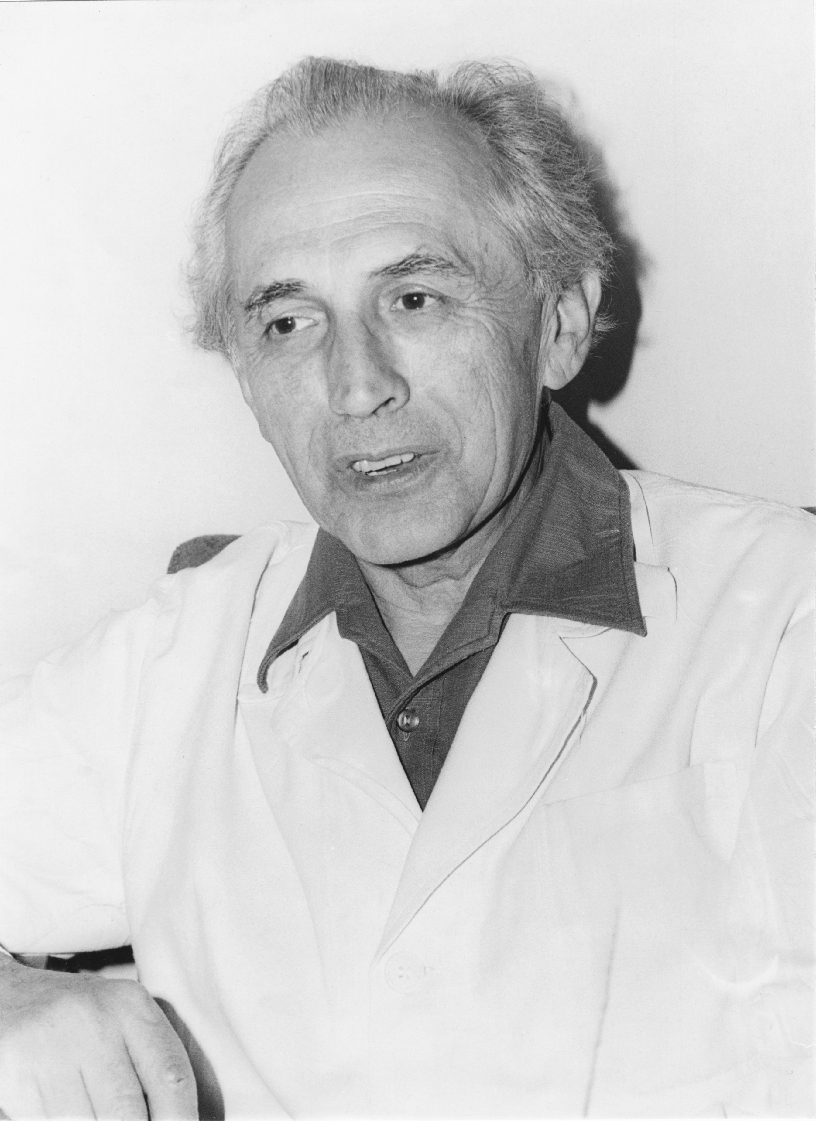 Doc. MUDr. Adolf Zelený (21. 9. 1917 – 3. 5. 1991), IHE Praha 1976