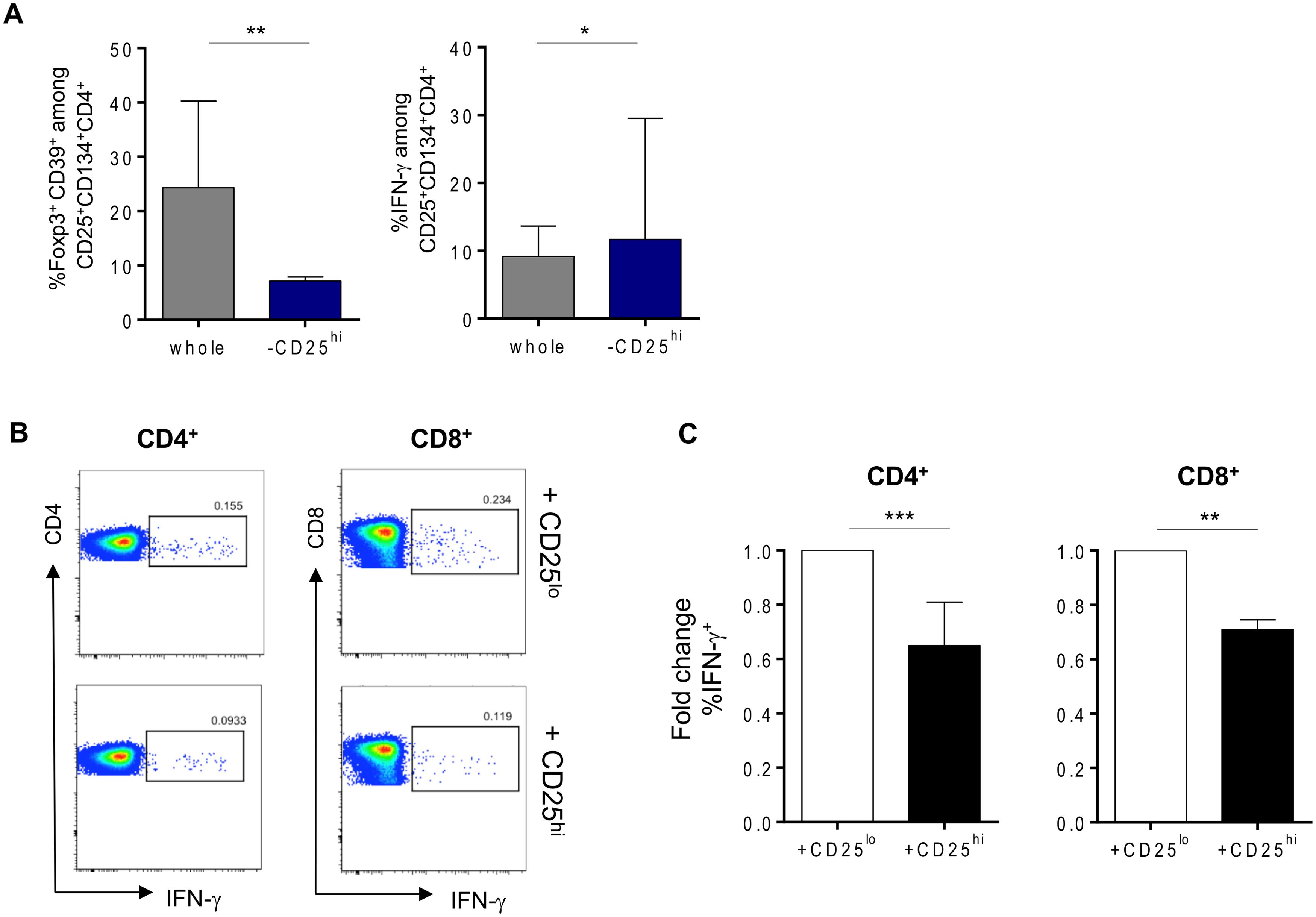 Tregs can suppress HIV-specific responses in vitro.