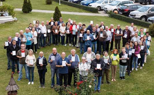 Celkem 57 osob, kterým bylo v letech 1992–2017 transplantováno srdce v Brně, se letos sešlo v Mikulově.