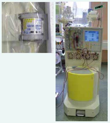 Imunoadsorpční kolona Glycosorb a přístroj COM.TEC<sup>®</sup>