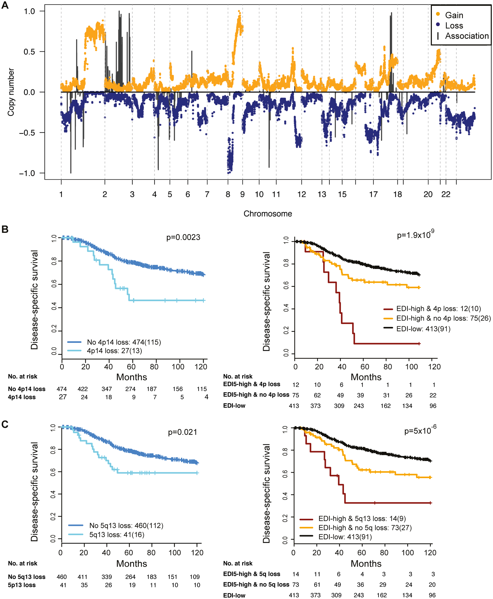 The relationship between ecological heterogeneity and cancer genomic aberrations in 507 grade 3 tumors.