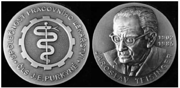 Čestná medaile prof. Jaroslava Teisingera