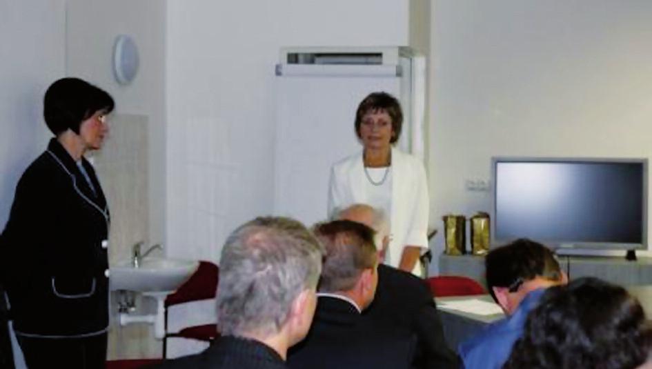 Den výzkumných prací zahájila prof. MUDr. J. Dušková, DrSc., MBA.
