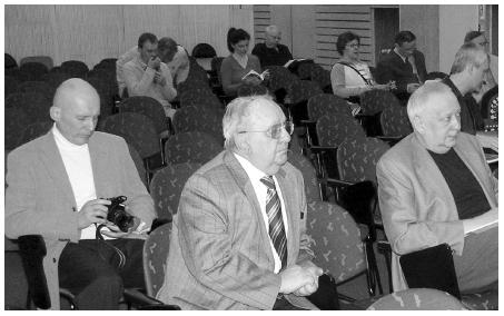 Vždy pozorný posluchač prof. MUDr. Jaromír Kolář, DrSc. (85 let)