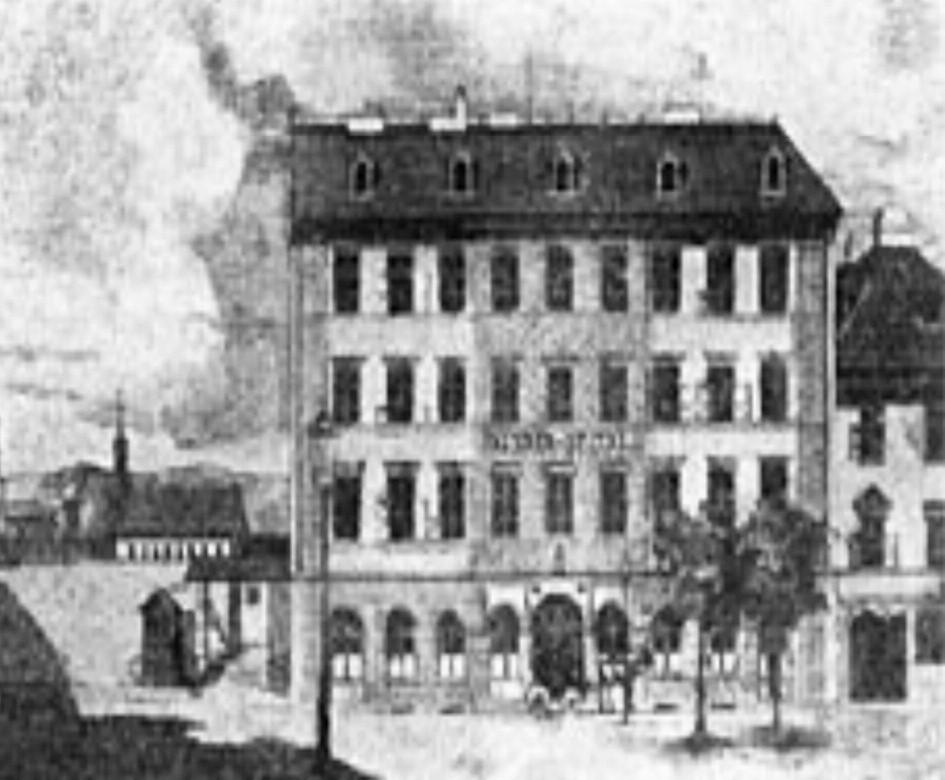 Rok 1854 – Nemocnice na Karlově náměstí (100 lůžek)