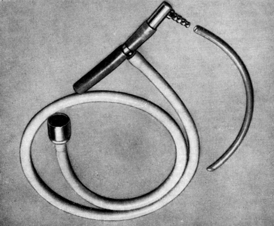 Ayreovo T Jednocestný otevřený ventilační systém zcela bez ventilů a zpětného vdechování předpokládal velký příkon plynů.