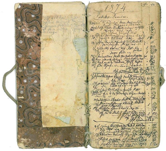 Lékařský zápisník Františka Holuba z období jeho působení v Pátku