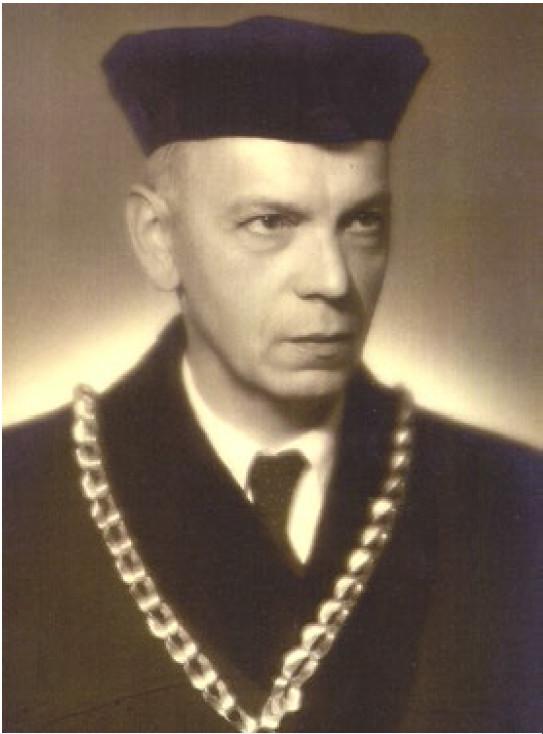 Prof. Ladislav Borovanský jako děkan Lékařské fakulty UK v Praze v letech 1946/47