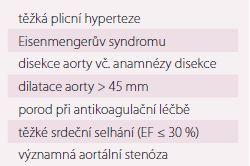 Kardiologické indikace k císařskému řezu.