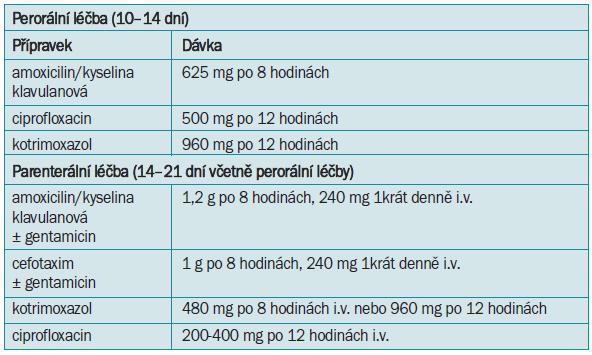 Léčebné možnosti akutní pyelonefritidy.