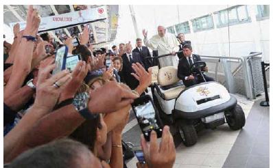 Kardiologové vítají papeže Františka.