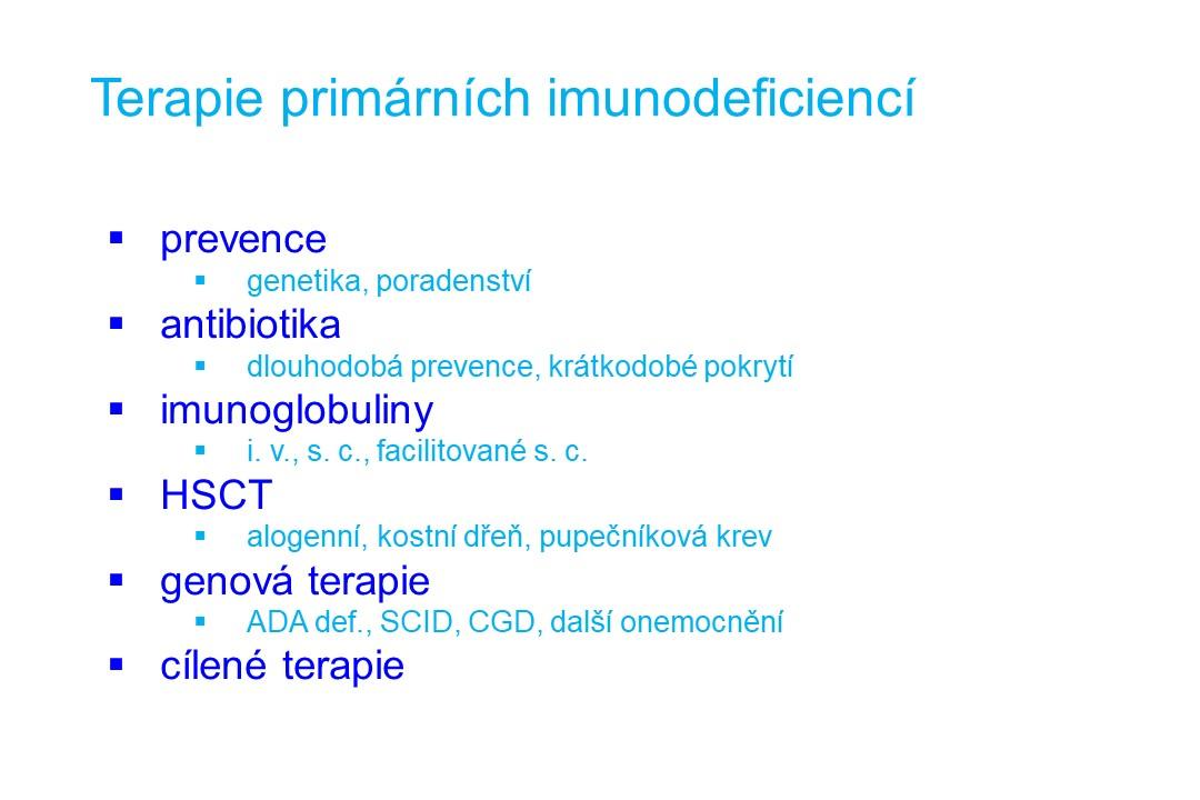 Imunodeficience - 29