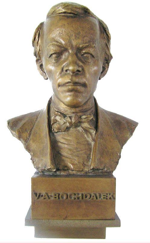 Bochdalkova busta (Nemocnice Litoměřice)