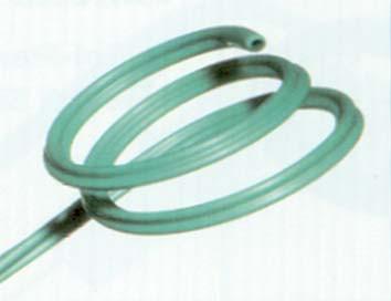 8. Periferní stent Towers. Materiál: C-Flex. Umožňuje lepší periferní a luminální drenáž.<br><br> Schéma 1. Příklady typů v současné době užívaných stentů a polymerů.