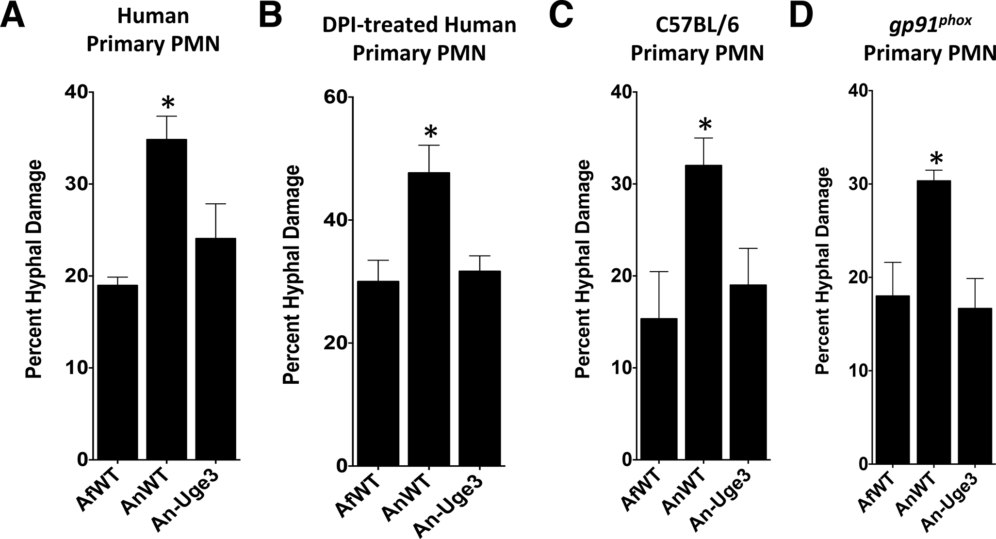 GAG-mediated resistance to neutrophil killing is dependent on neutrophil lysate content.
