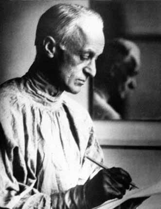 Nejznámější fotografie zakladatele neurochirurgie. Tu podepsal i Arnoldu Jiráskovi.