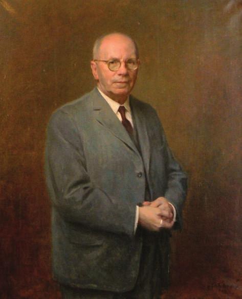 Portrét prof. M. Seemana z roku 1966, jehož autorem je malíř Vladimír Stříbrný, zdobí pracovnu přednostky Foniatrické kliniky doc. O. Dlouhé.
