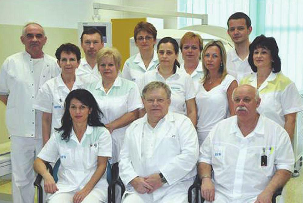 Kolektív KNM Martin, uprostred doc.MUDr. Ivan Režňák,CSc.