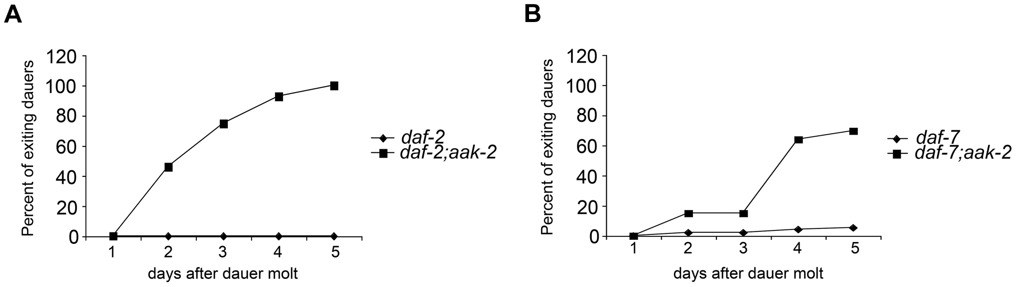 <i>aak-</i>2 deficiency causes dauer exit.