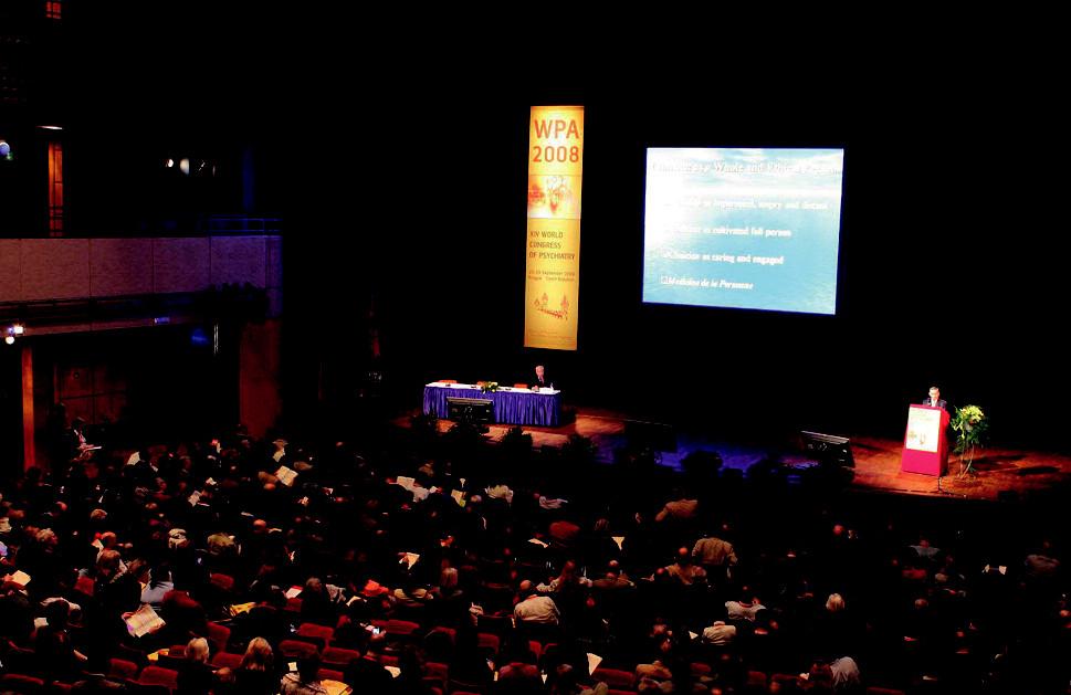 Přednášky, zejména slavných veličin světové psychiatrie, se těšily v průběhu kongresu velké pozornosti posluchačů.
