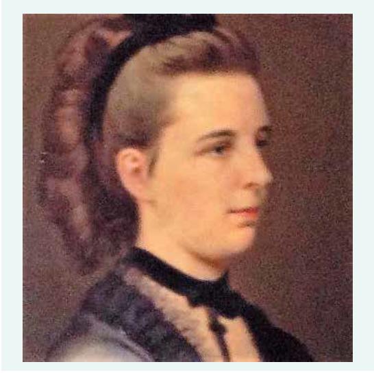 Ottova sestra Gabriela Kahlerová-Richterová (1848–1874)