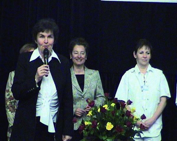 Prof. Matějovská Kubešová jako hlavní autor knihy.