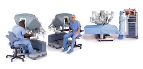 Robotický systém Da Vinci SI HD Fig. 2. Robotic Da Vinci SI HD system