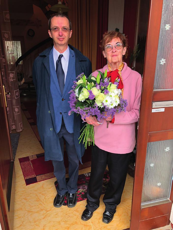 Jarmila Drábková se synem doc. MUDr. Tomášem Drábkem, Ph.D.